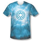 DC Green Lantern Blue Energy Ring Corp Sublimation ALL OVER Vintage T-shirt top