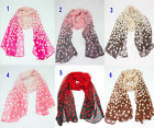 Spot Scarf Ladies Polka Dot Spotted Spotty Crinkled Fashion Hijab Casual Shawl