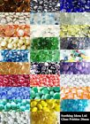 230(app 1kg) Glass Pebbles 20mm Lots of Colours Home Garden Wedding Aquariums
