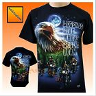 Eagle Native American Motorbike Motorcycle Biker T Shirt
