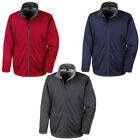 New RESULT Core Mens Casual Waterproof Soft Shell Fleece Jacket 3 Colours XS-3XL