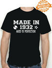 Rock n roll 90th BIRTHDAY Printed T-Shirt Made In 1930 / Christmas / All Sizes