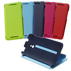 NEW GENUINE HTC HC V851 DOUBLE DIP FLIP WALLET CASE/ STAND FOR HTC ONE MINI