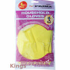 Household Gloves Latex Marigold Gloves Style Washing Up Gloves Yellow