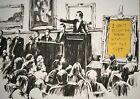 Poster Print - Banksy - Auction Morons A3 / A4