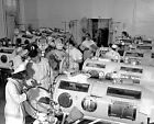 1940s IRON LUNG WARD CHILDREN POLIO PHOTO