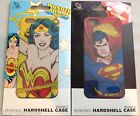 Iphone 5 Hardshell Case Cover Official DC Comics Superman or Wonder Woman NIP!