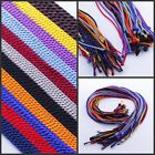 "Wholesale Lots 2MM Silk Thread Cords Pendant 18"" Mix-Color Necklace"
