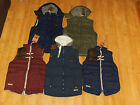New Mens Tokyo Laundry Hooded And Non Hooded Gilets Gillets BodyWarmers BNWT