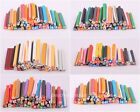 Fashion 50pcs Mixed 3D Nail Art Fimo Stick Rods Polymer Clay Sticker Tips