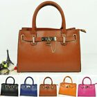 Retro Lock Women Lady Designer Tote Vintage Shopper Handbag Satchel Shoulder Bag