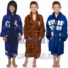 KIDS BOYS GIRLS DOCTOR WHO BBC FLEECE BATHROBE CLASSIC THICK SOFT DRESSING GOWN