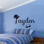 COOL LOOK PERSONALISED/CUSTOMISE NAME  Removable wall sticker -name 10