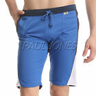 Men's Athletic Sports Gym Pants Workout Exercise Shorts Two Pockets Trousers S~L