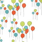 JUST FOR FUN BALLOONS  from  MAKOWER 100% COTTON FABRIC PATCHWORK
