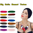 Stretch Full Head Turban Wrap Indian Style Bandana Bonnet Hat Hair Loss Chemo