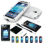 ALUMINUM GORILLA GLASS METAL SHOCK WATERPROOF CASE FOR SAMSUNG GALAXY S4 I9500
