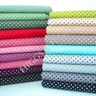 MORE 3MM TINY DOT- 100% COTTON POLKA DOTS  FABRIC ALL COLOURS patchwork craft