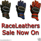 RS SHORT CUFF ENDURO MOTORCYCLE MOTORBIKE BIKE GLOVES WITH VENTED KNUCKLES