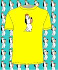 Heavyweight Retro DROOPY t-shirt in 7 colours FREE POSTAGE. droopy dog/character
