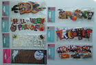 YOU CHOOSE! Jolee's Boutique ~HALLOWEEN THEMES~ Dimensional Title Waves Stickers