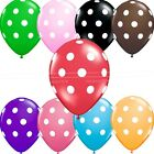 Kids Toys Birthday Parties Supplies Polka Dot Party Balloons Bulk 12 inch