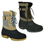 MENS WINTER SNOW MOON MUCKER WATERPROOF WELLINGTON WELLIES BOOTS SHOE LADIES NEW