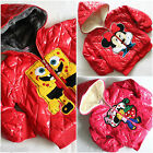 Cute Boys Girls Sponge Bob Winter Fleece Lined School Jacket sz 24 Months 5 year