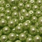 400x 4mm / 200x 6mm / 100x 8mm / 50x 10mm Glass Pearl Beads 30 Various Colour <br/> BUY 4 GET 1 FREE in same invoice. (add 5 to qualify).