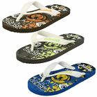 Boys Samoa synthetic toe post  flip flops   3 colours available   JUSTIN