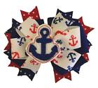Anchor Feltie Boutique Hair Bow