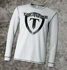 Torque Gravity Shield Thermal Shirt (White) - mma bjj ufc