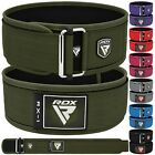 RDX Weight Lifting Leather Gym Lever Belt Training Power Bodybuilding Workout 4L