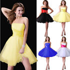 Vogue Women's Stunning Bridesmaid Evening Formal Prom Cocktail Party Short Dress