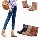 New Fashion Womens Ladies Inner High Heel Bootie Ankle Shoes AU All Size Y201