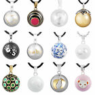 12 Styles Harmony Ball Musical Bola Pendant Chime Necklace Sounds Angel Caller