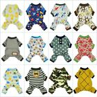 Внешний вид - Fitwarm Boy Adorable Dog Clothes Pet Shirt Cat Pajamas Jumpsuit Small Medium XL
