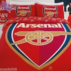 Arsenal Logo - Quilt Cover Set - Avail Single, Double, & Queen - Great Gift Idea