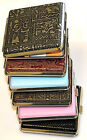 NEW LEATHER CIGARETTE CASE TIN HOLDER 16-18 CIG Approx DESIGNS