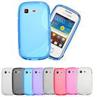S Line Soft TPU Gel Silicone Back Case Cover For Samsung Galaxy Pocket Neo S5310