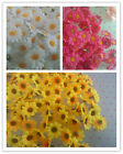 100X Artificial Gerbera Daisy Silk Flowers Heads Wedding Petals Party Home Decor