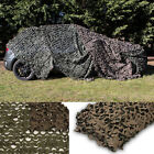 GREEN/BROWN CAMOUFLAGE NET/CAMO NETTING HUNTING/SHOOTING