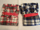 Ambrielle Size 1X 2X or 3X Choice Flannel 2 Piece Pajama Sleepwear Set NWT