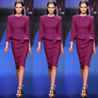 Charming Women Vintage Party Cocktail Office Wear Knee-Length Dress 4 Size XS~L