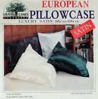 Brand New Luxury Satin European Pillowcase - Color Choice