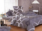 TATEN Sheet Set Double/Queen/King Size Bed Flat&Fitted&Pillowcases Cotton New