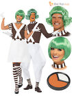 Mens Ladies Oompa Loompa Fancy Dress Costume Book Week Chocolate Factory Worker