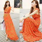 Fashion womens Summer Beach  Long Dress  evening Party Cocktail  Maxi  Dresses