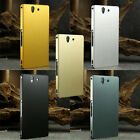 Luxury Aluminum Metal Hard Back Cover Case For Sony Xperia Z LTE L36h