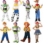 Child Disney Toy Story New Fancy Dress Costume Pixar Movie Outfit Kids Boys Girl
